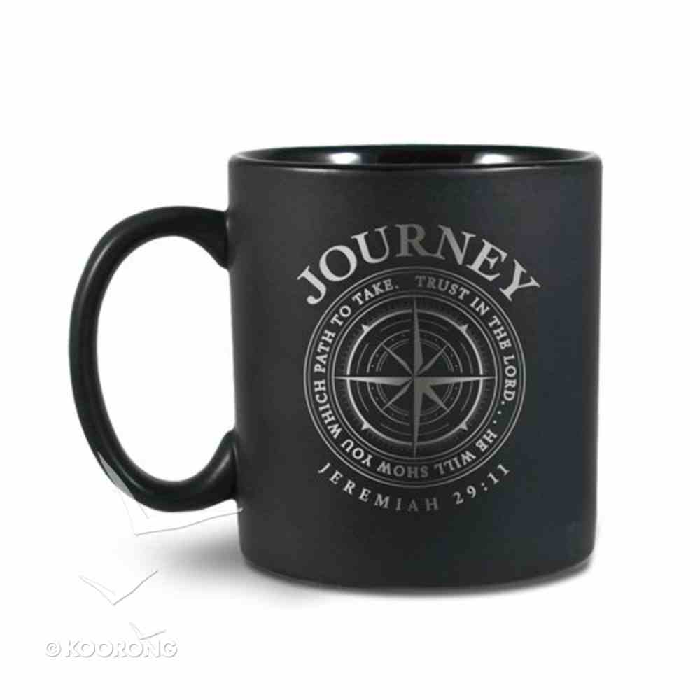 Ceramic Mug He Guides: Journey For I Know the Plans I Have For You... (Jeremiah 29:11) Homeware