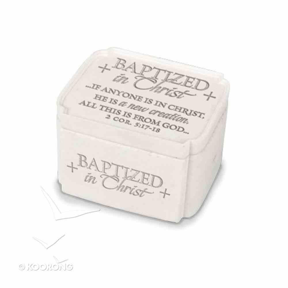 Keepsake Box: Baptized in Christ (2 Cor 5:17-18) Homeware