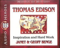 Album Image for Thomas Edison - Inspiration and Hard Work (Unabridged, 5 CDS) (Heroes Of History Series) - DISC 1