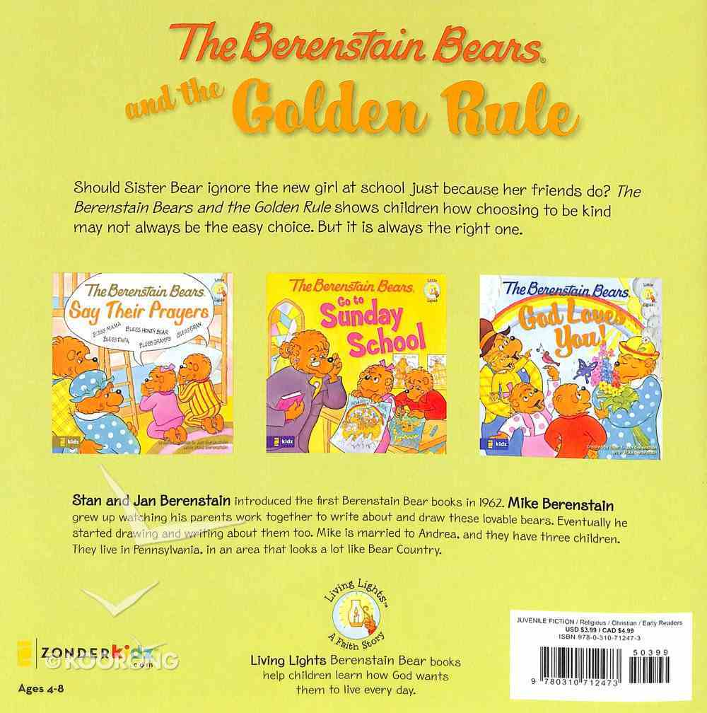 The Golden Rule (The Berenstain Bears Series) Paperback