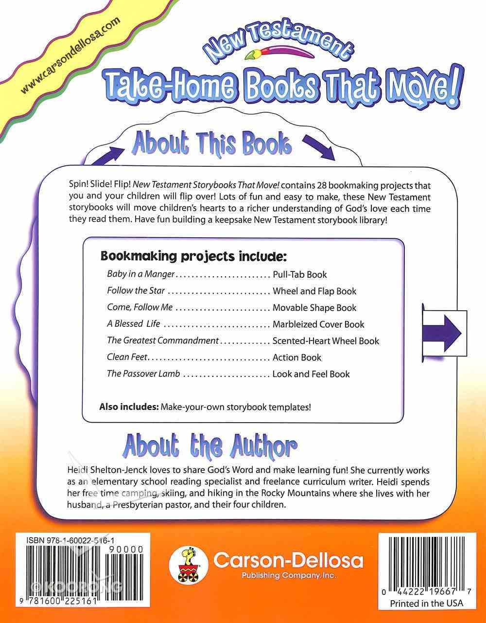 Take-Home Books That Move!: New Testament (K-2) Paperback