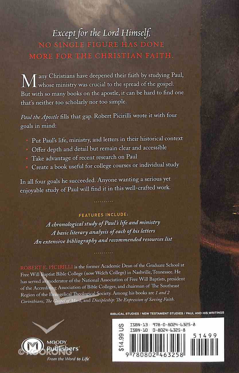 Paul the Apostle: Missionary, Martyr, Theologian Paperback