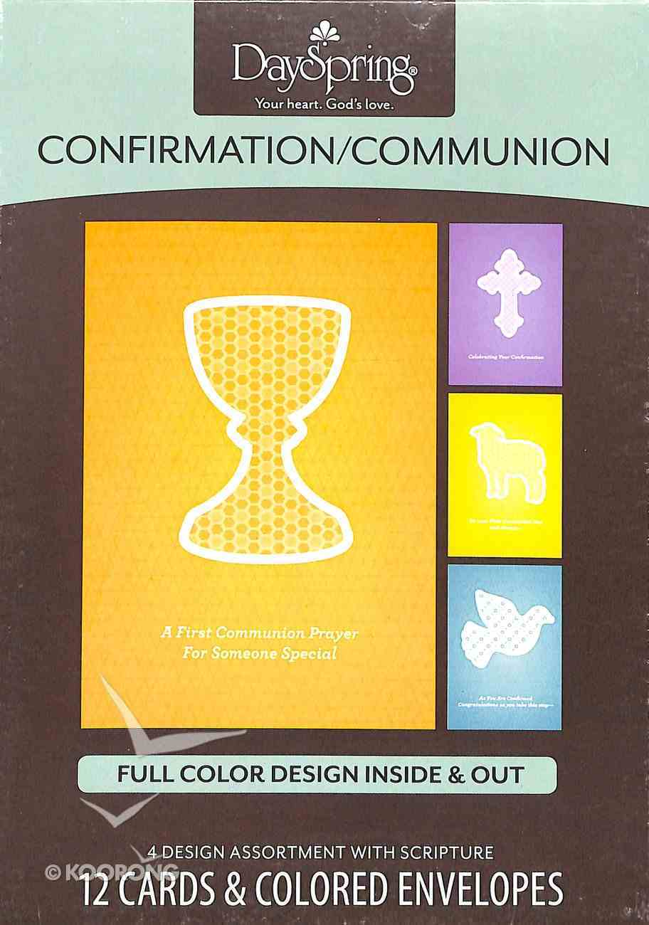Boxed Cards: Confirmation/Communion Box