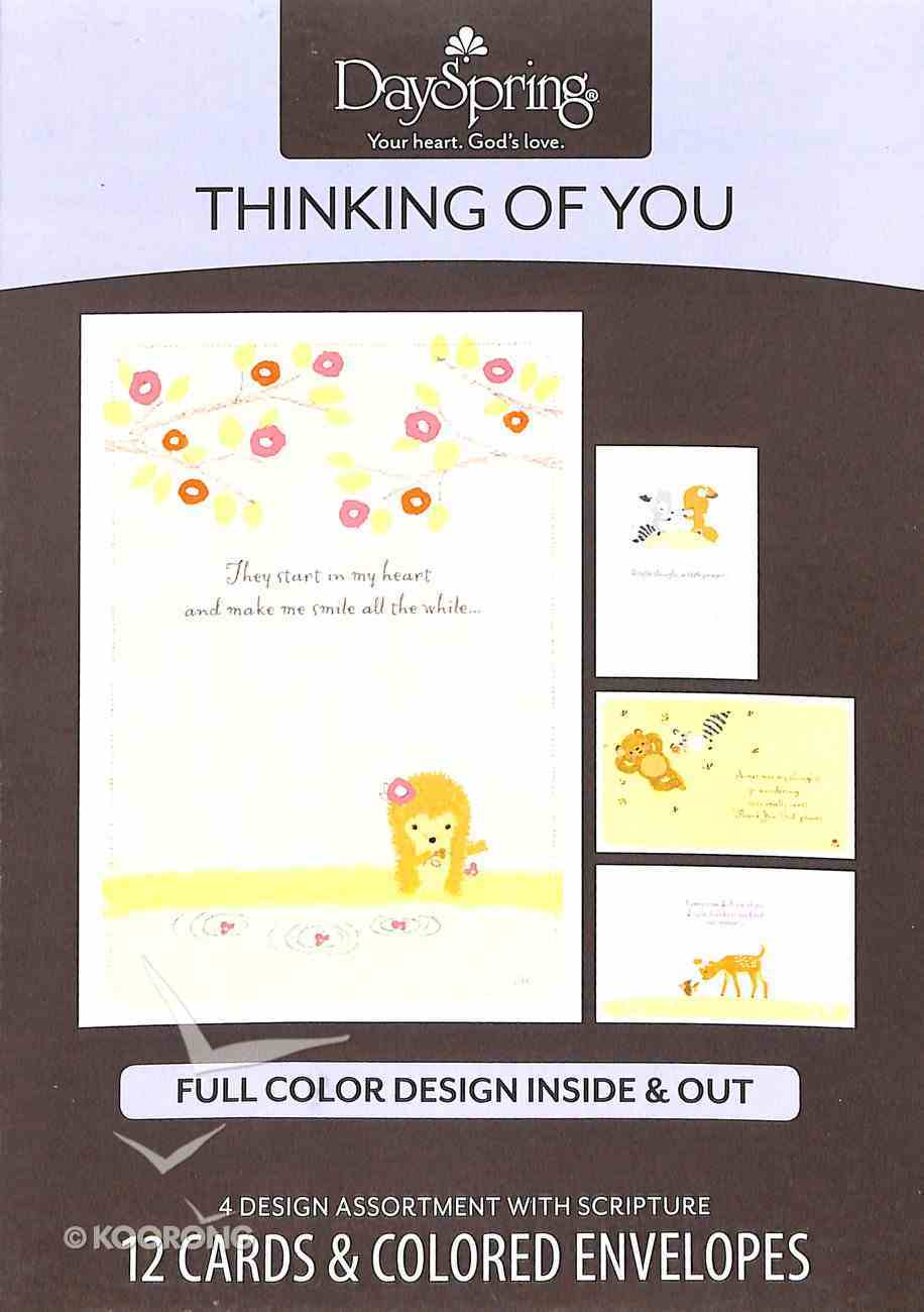 Boxed Cards Thinking of You: Woodland Wonders Box