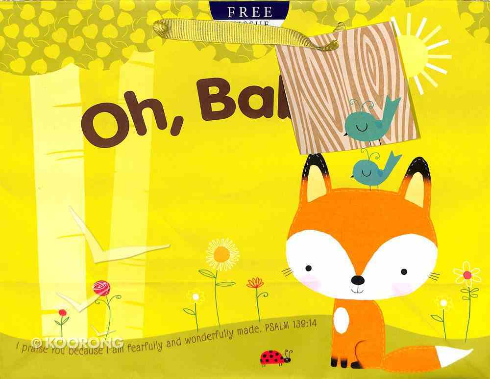 Gift Bag Large: Oh, Baby! (Incl Tissue Paper & Gift Tag) Stationery