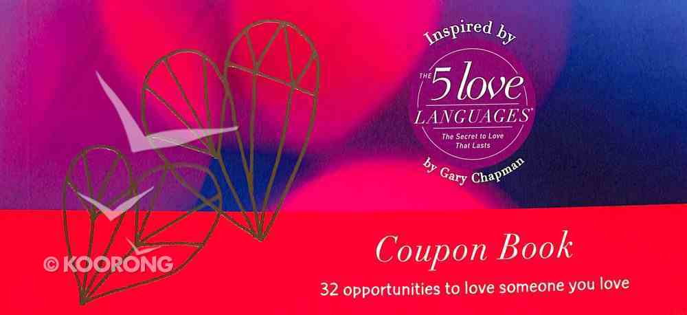 You & Me Coupon Book: 32 Opportunities to Love Someone You Love Stationery