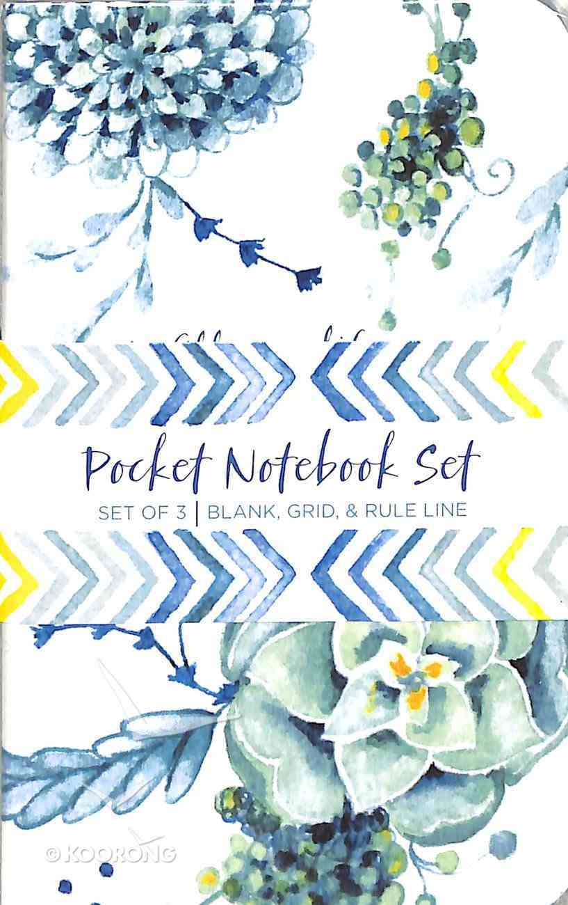 Notebook Pocket Set: He Fills My Life With Good Things... (Psalm 103:5) ((In)courage Gift Product Series) Pack