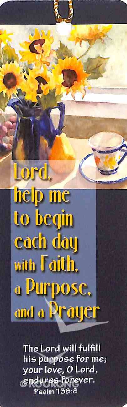 Bookmark With Tassel: Lord, Help Me Stationery