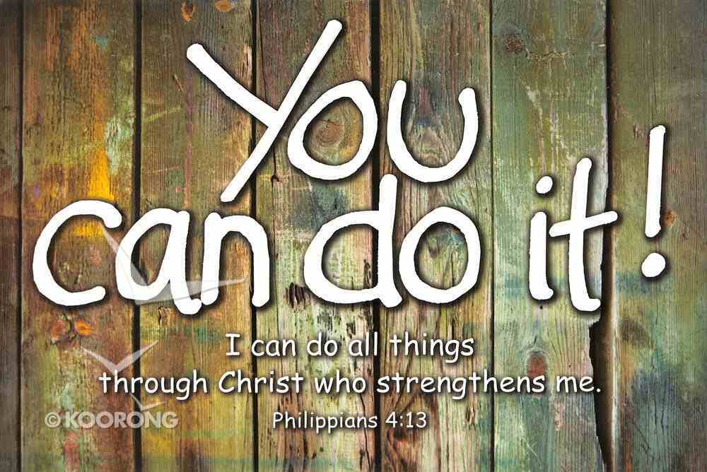 Poster Small: You Can Do It Poster