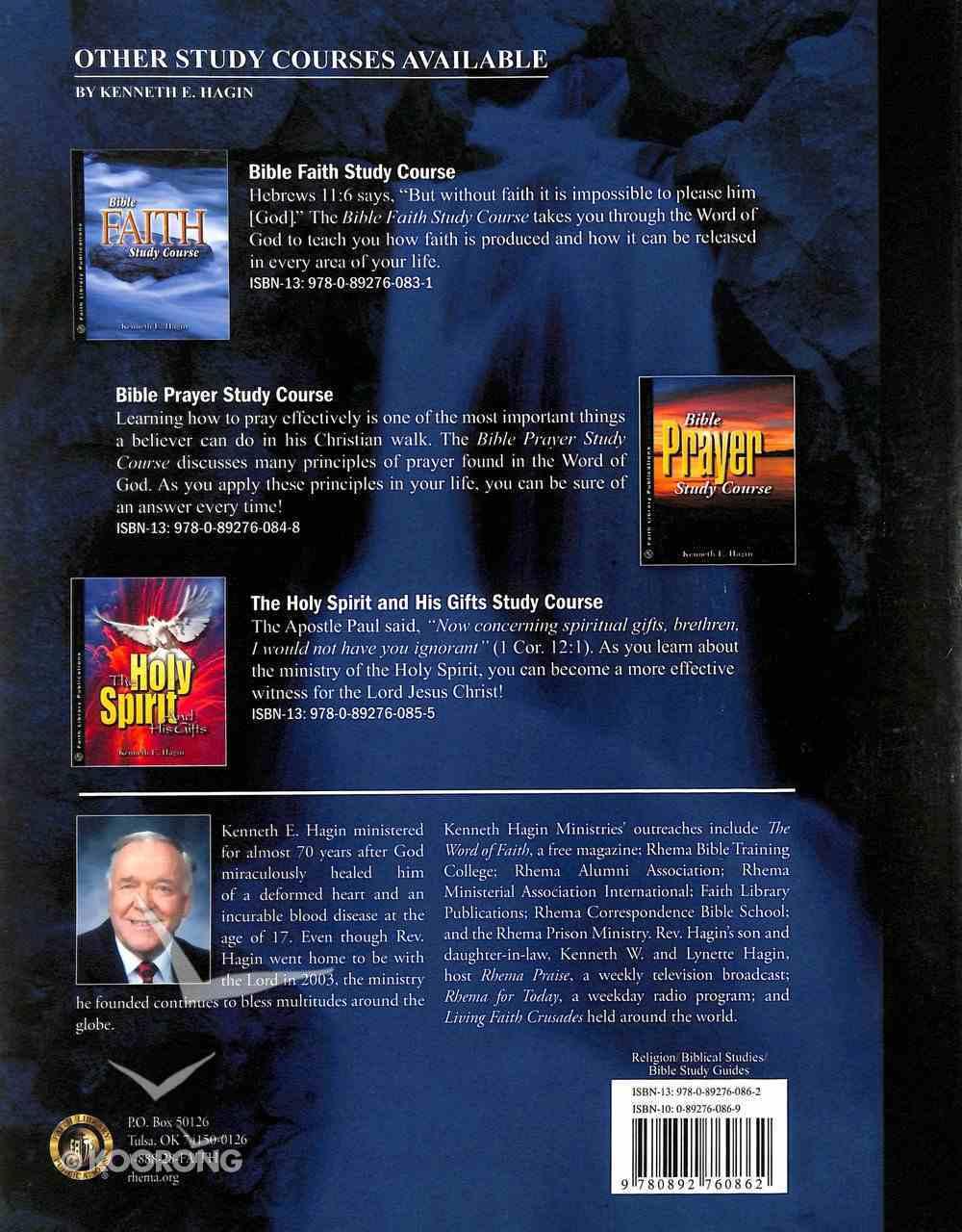 Bible Healing Study Course Paperback