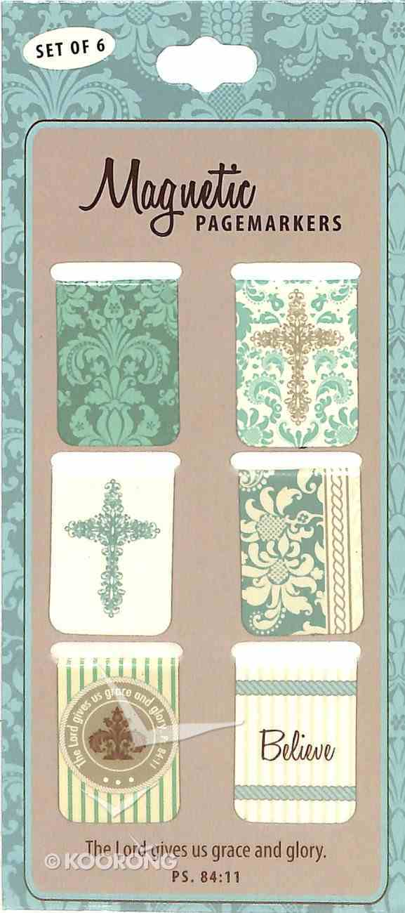 Bookmark Magnetic: Grace & Glory (Set Of 6) Stationery