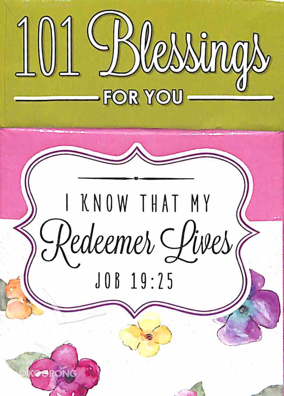 Box of Blessings: 101 Blessings For You Redeemer Lives (Job 19 25) Stationery