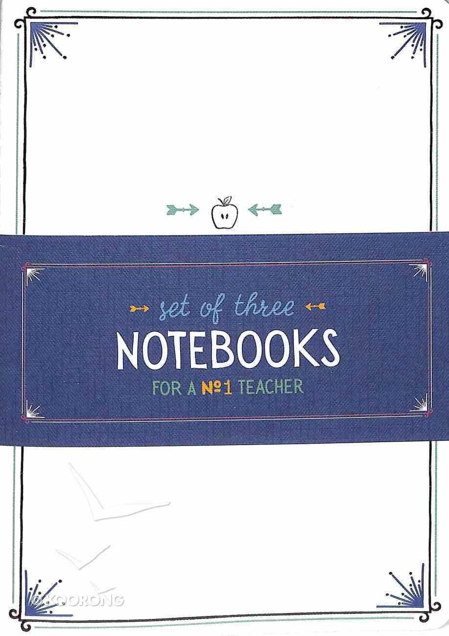 Notebook : Teacher Collection (Set of 3) (A Great Teacher Collection) Paperback
