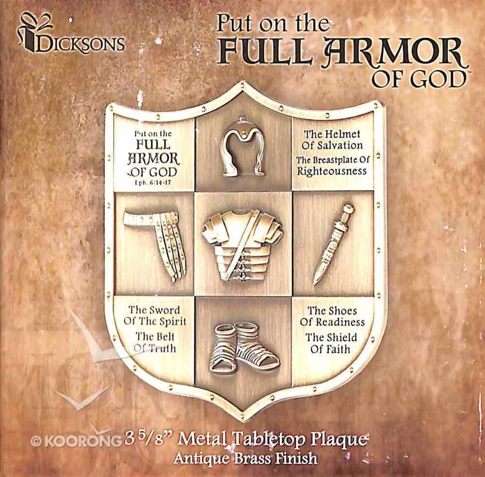 Tabletop Plaque: Full Armor of God Homeware