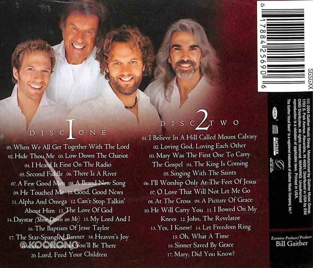 Best of Gaither Vocal Band (Gaither Vocal Band Series) CD