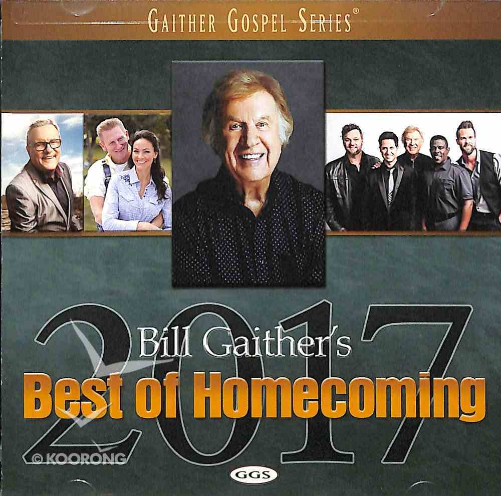 Best of Homecoming 2017 (Gaither Gospel Series) CD