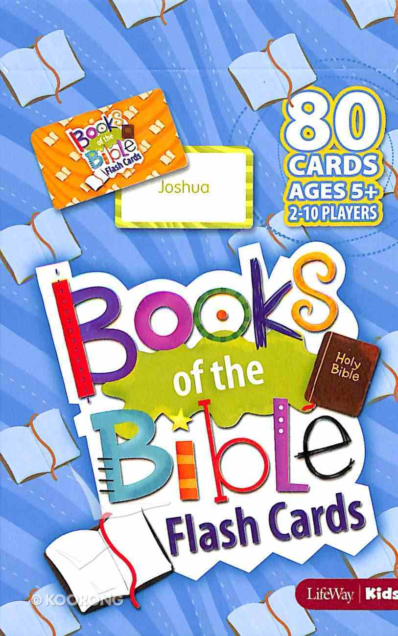 Books of the Bible Flash Cards Cards