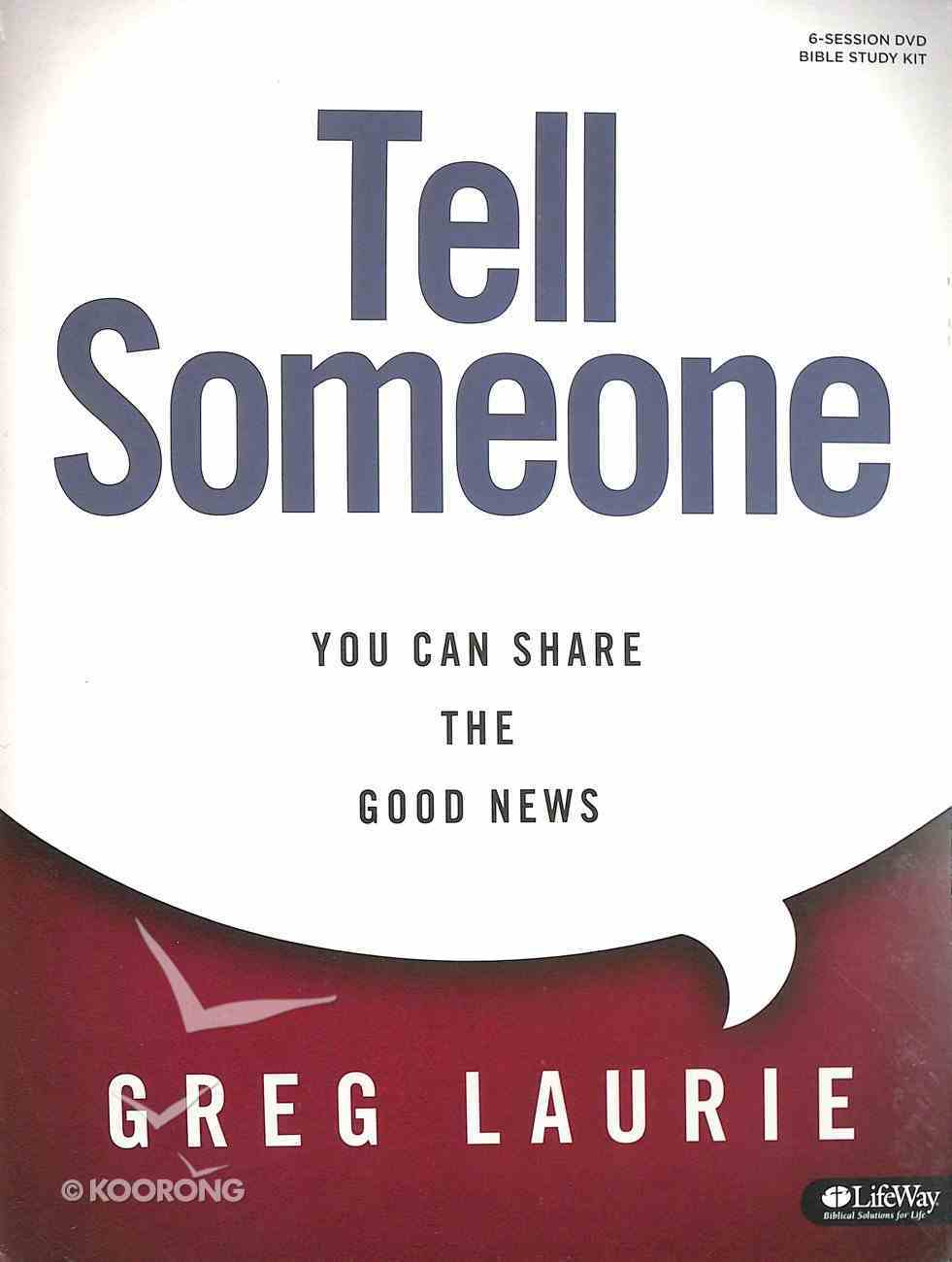 Tell Someone: You Can Share the Good News (Leader Kit) Pack