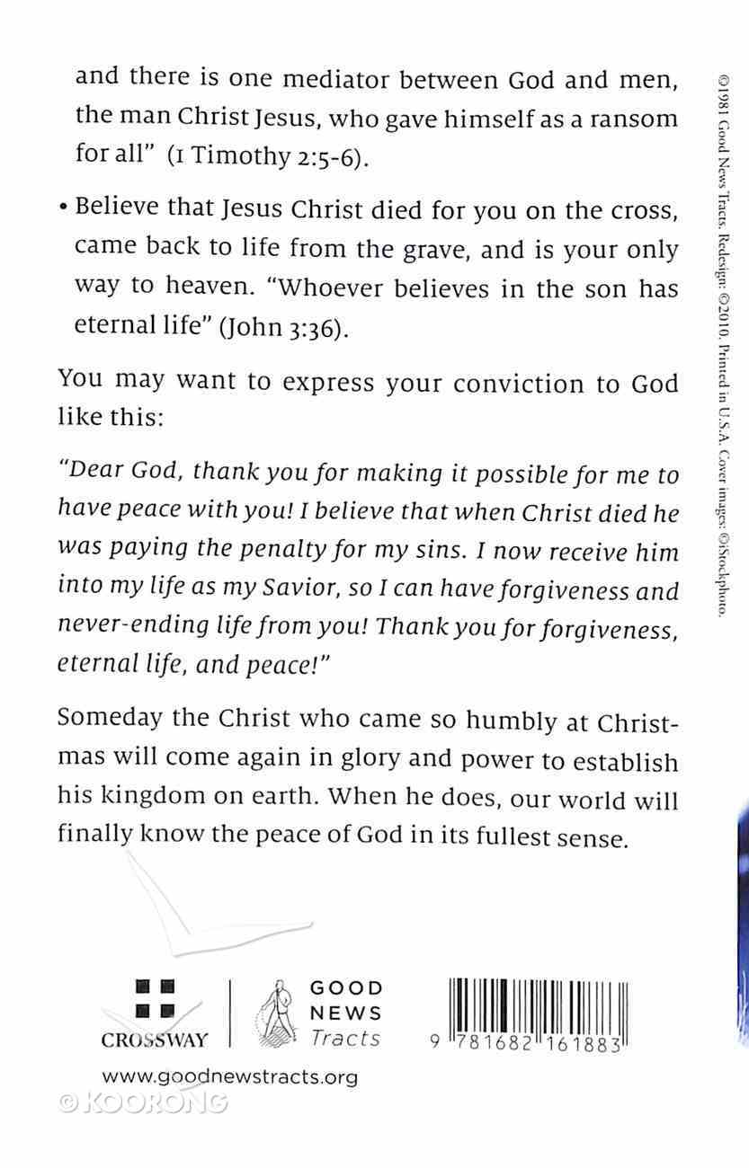 Prince of Peace (Pack Of 25) Booklet