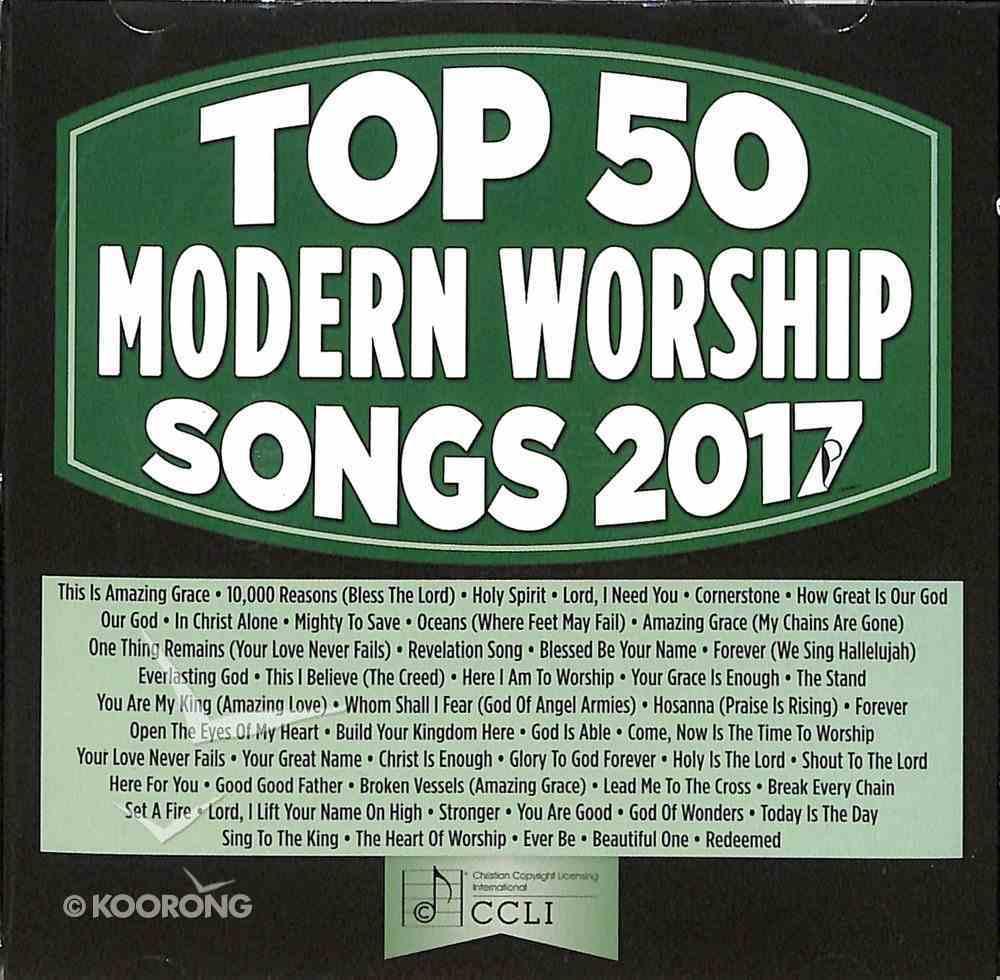Top 50 Modern Worship Songs 2017 CD