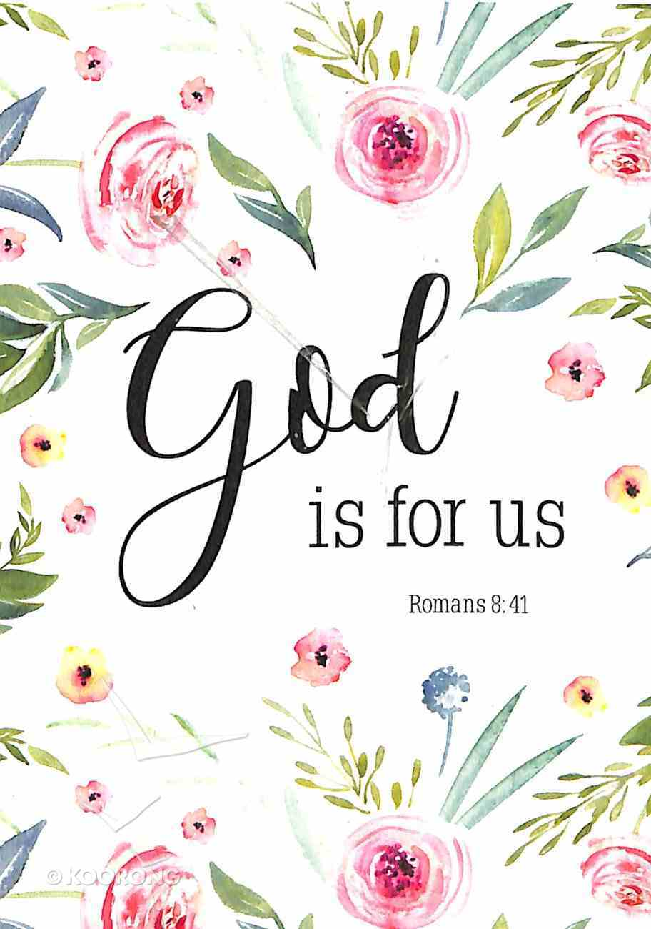 Poster Small: God is For Us (Romans 8:31) Poster