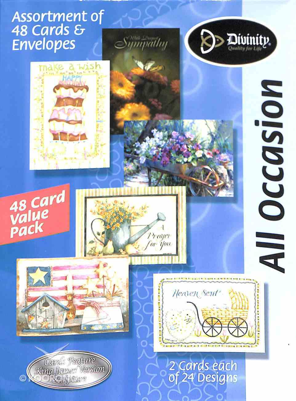 Value Box of Cards: All Occasion Box