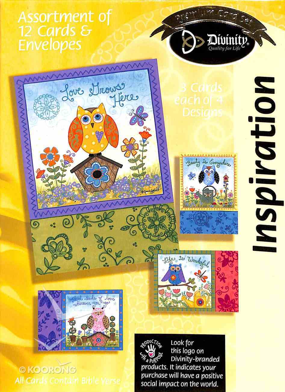 Boxed Cards Inspiration: Owls Box
