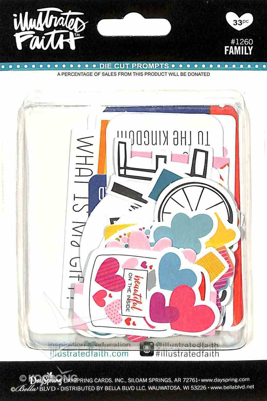 Family (Illustrated Faith Die Cut Prompts Series) Novelty