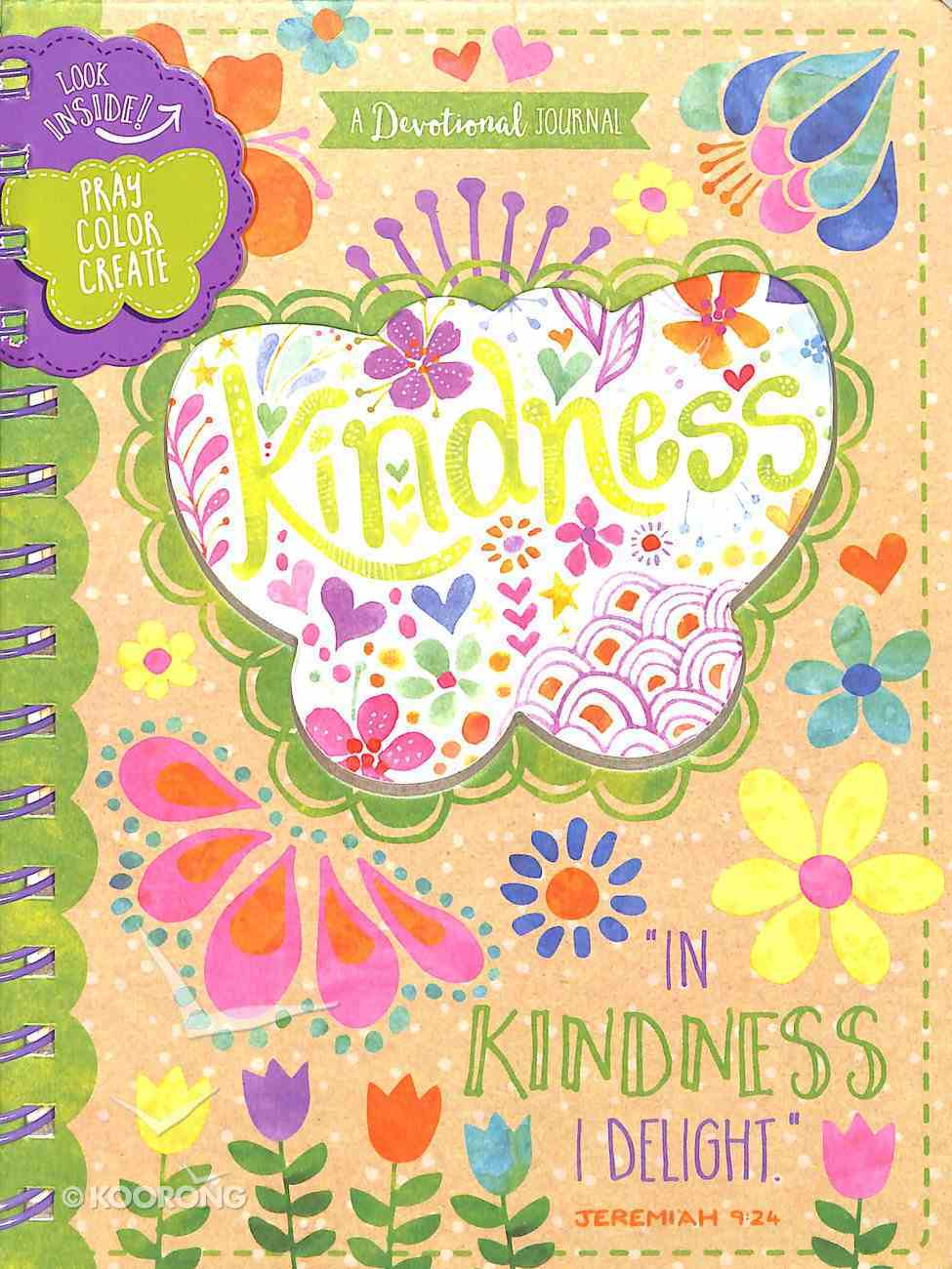 Let Your Light Shine: Kindness Tween Art Devotional Journal Spiral