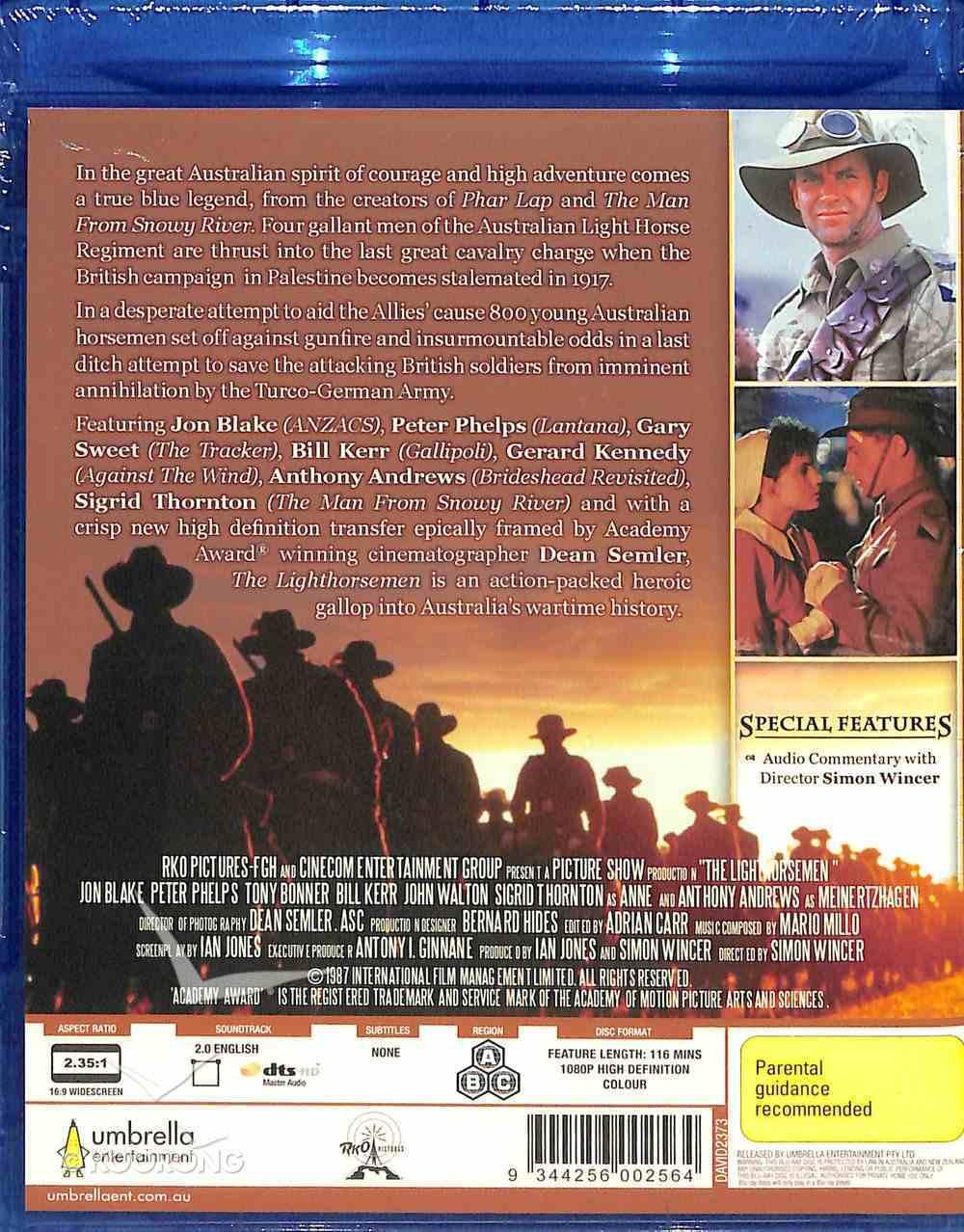 The Lighthorsemen (Blu-ray) Blu-ray Disc