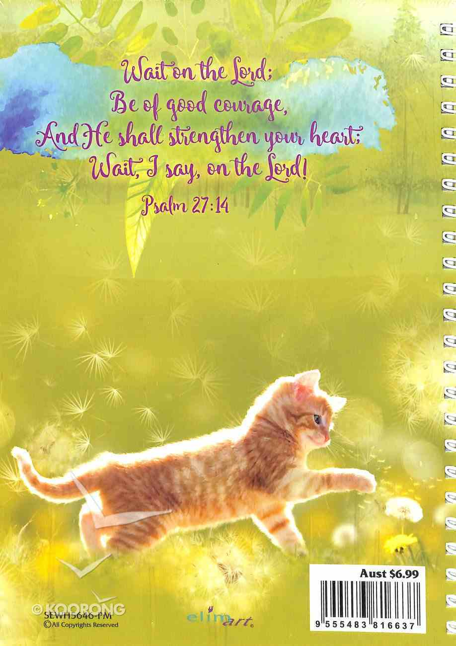 Journal: Cat, He Has Made Everything Beautiful, Ecclesiastes 3:11 Spiral