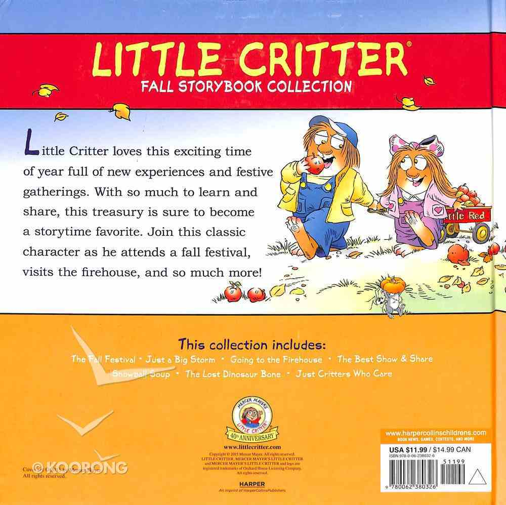 Little Critter Fall Storybook Collection Hardback