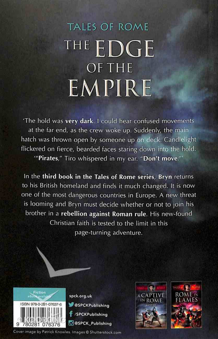 The Edge of the Empire (#3 in Tales Of Rome Series) Paperback