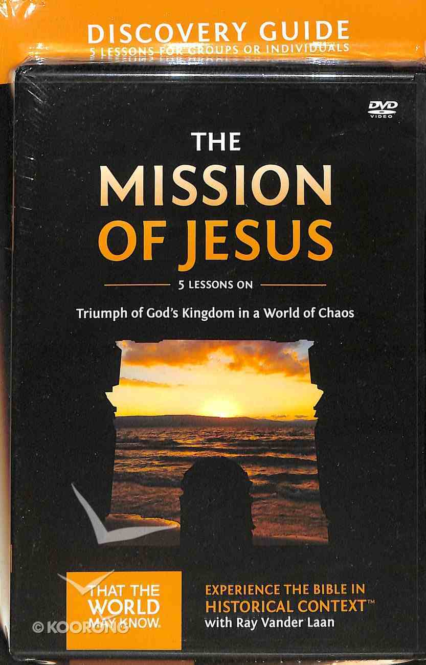 The Mission of Jesus (Discovery Guide & DVD) (#14 in That The World May Know Series) Pack