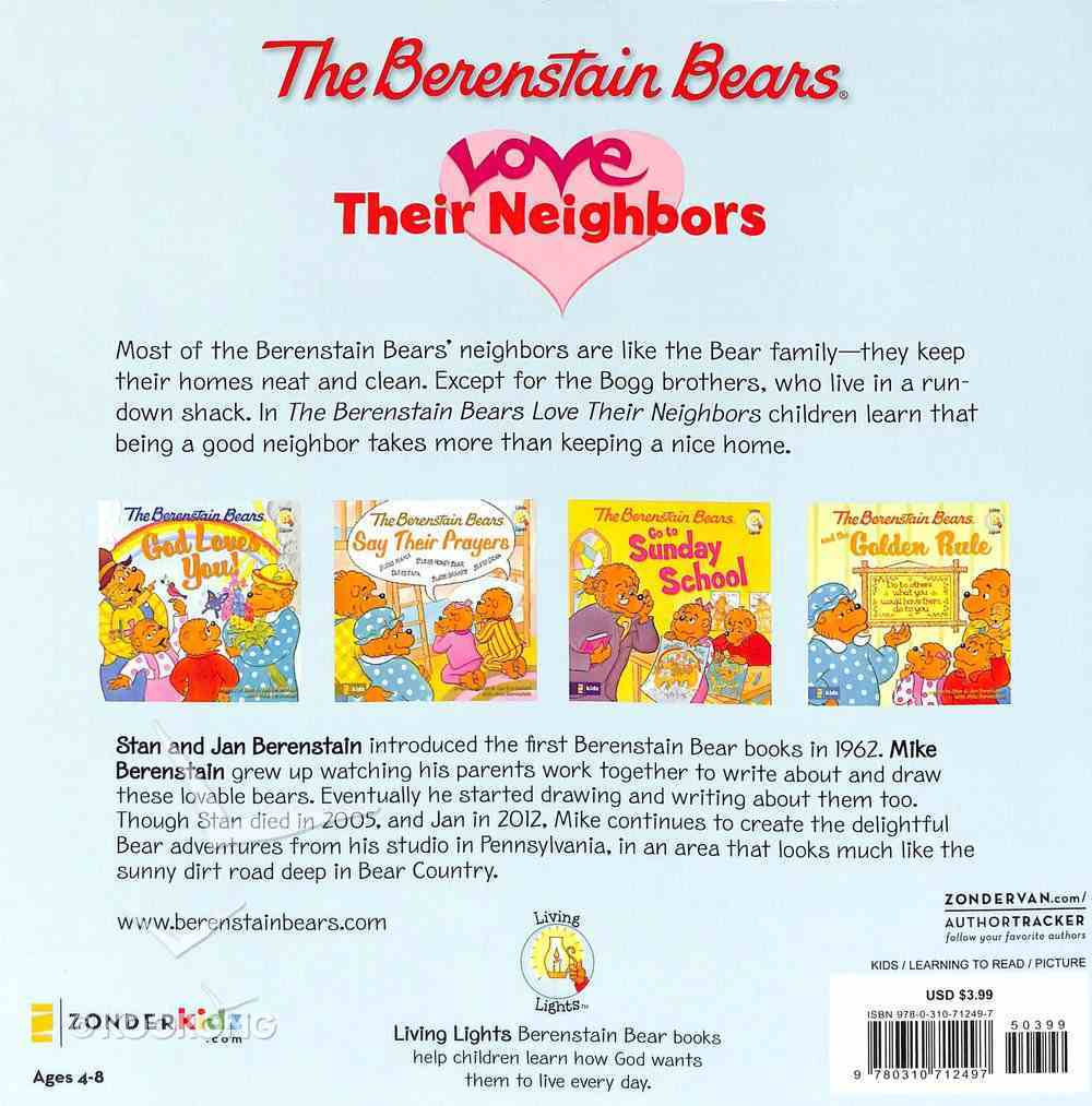 Love Their Neighbors (The Berenstain Bears Series) Paperback