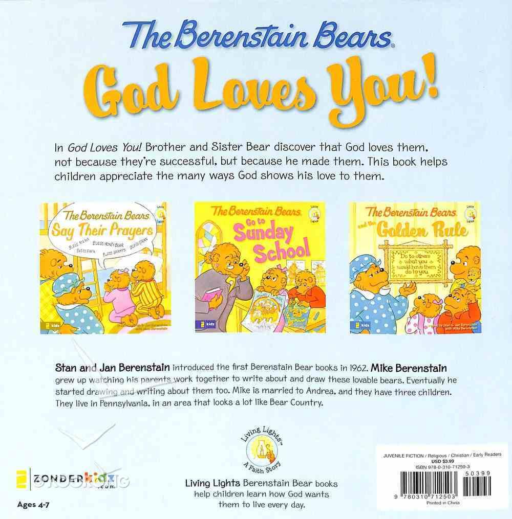 God Loves You! (The Berenstain Bears Series) Paperback