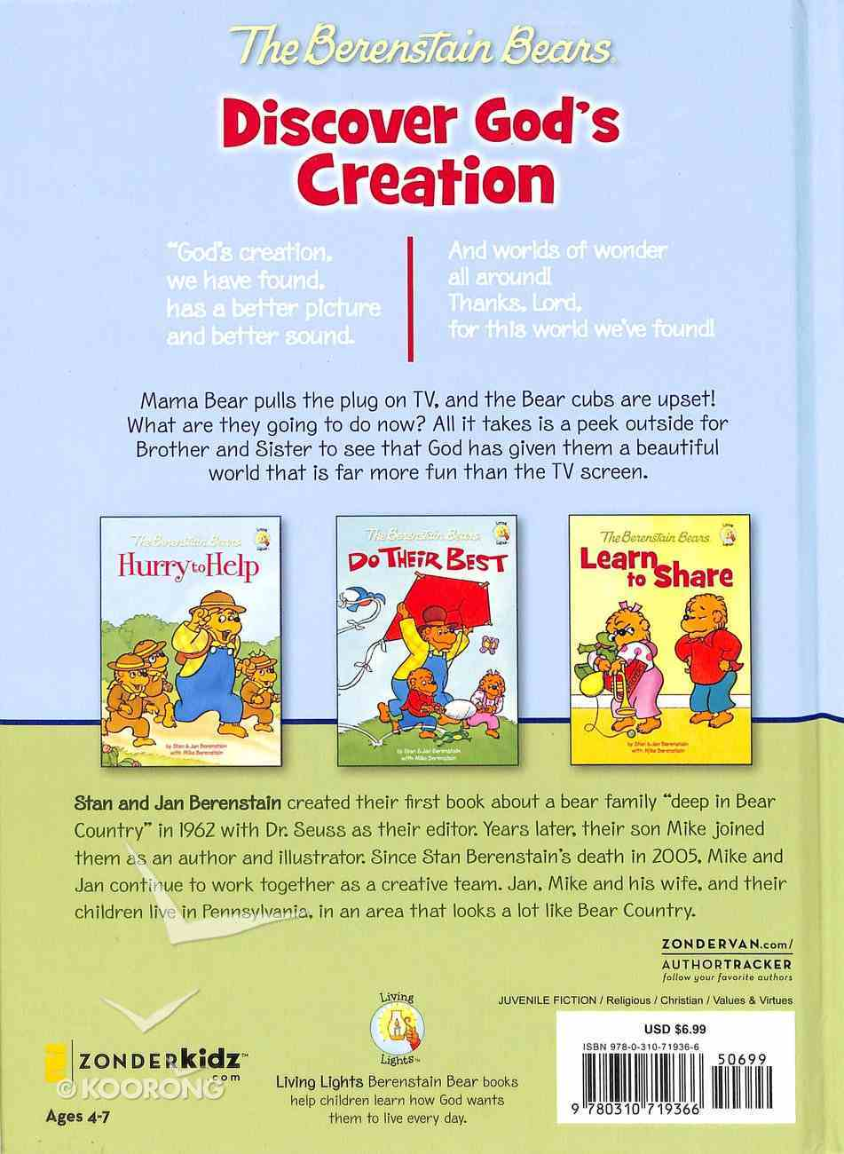 Discover God's Creation (The Berenstain Bears Series) Hardback
