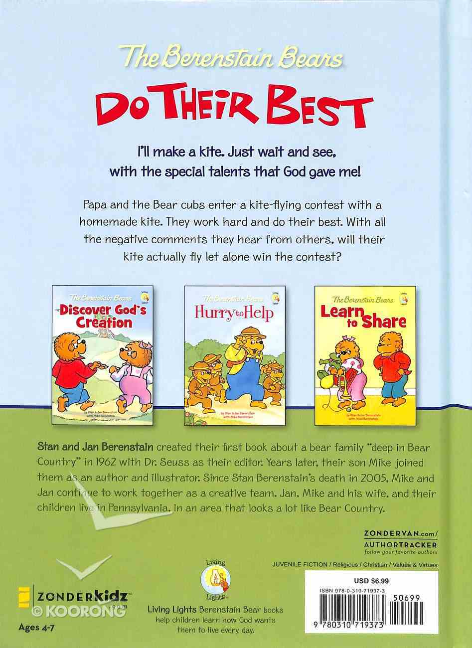Do Their Best (The Berenstain Bears Series) Hardback
