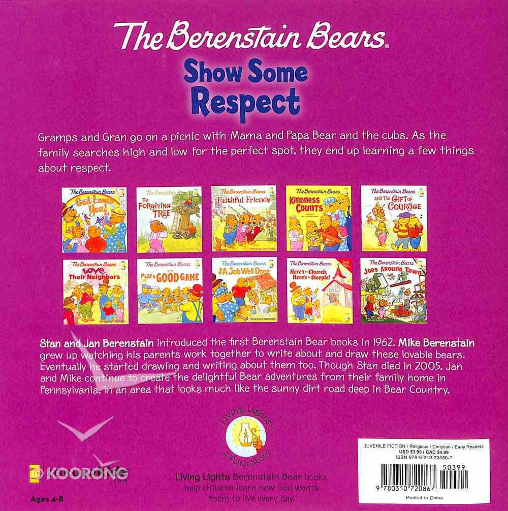 Show Some Respect (The Berenstain Bears Series) Paperback