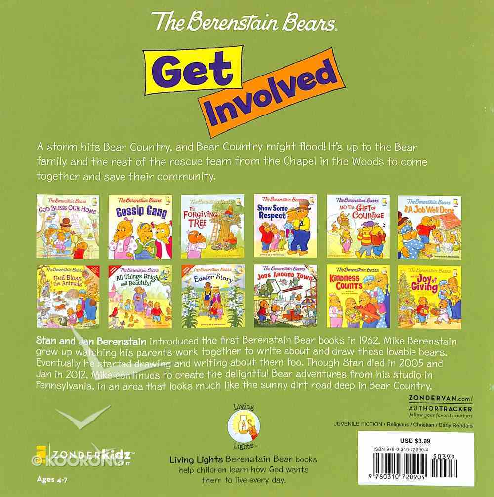 Get Involved (The Berenstain Bears Series) Paperback