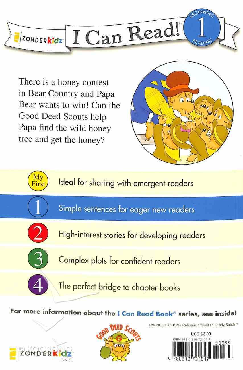 Honey Hunt Helpers (I Can Read!1/berenstain Bears Series) Paperback