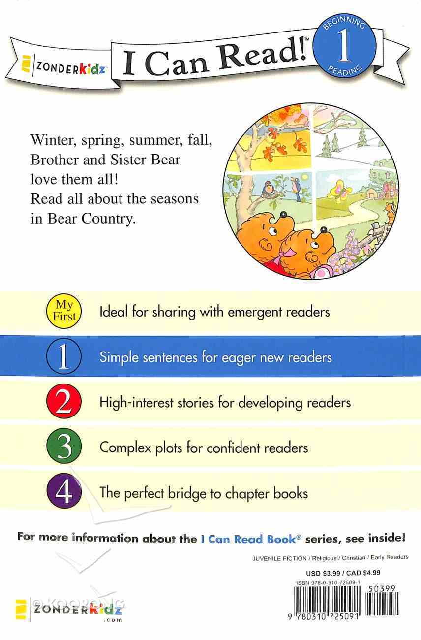 God Made the Seasons (I Can Read!1/berenstain Bears Series) Paperback