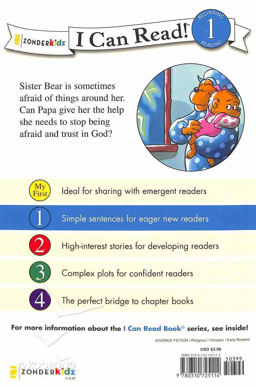 Do Not Fear, God is Near (I Can Read!1/berenstain Bears Series) Paperback