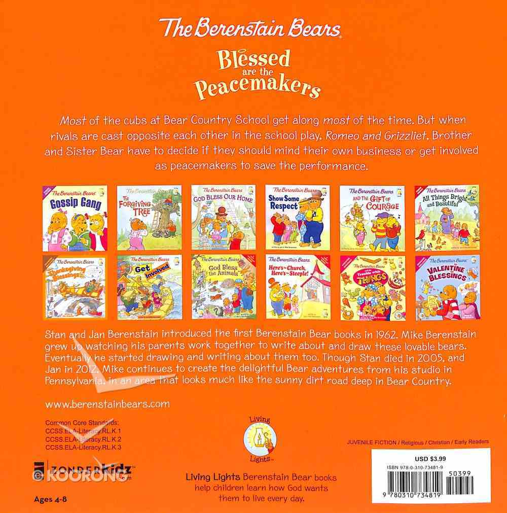 Blessed Are the Peacemakers (The Berenstain Bears Series) Paperback