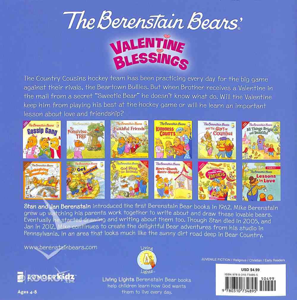 Valentine Blessings (The Berenstain Bears Series) Paperback