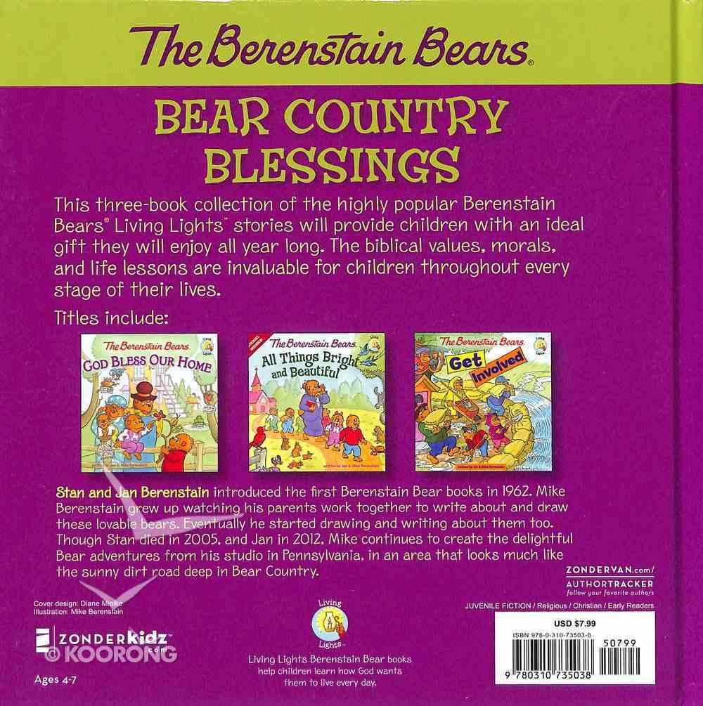 Bear Country Blessings (The Berenstain Bears Series) Hardback
