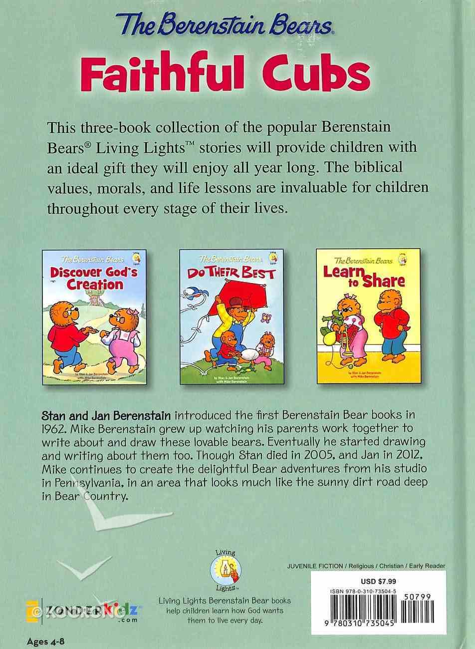 The Faithful Cubs (The Berenstain Bears Series) Hardback