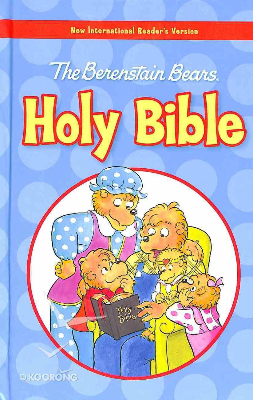 NIRV Berenstain Bears Holy Bible Large Print (Black Letter Edition) (The Berenstain Bears Series) Hardback