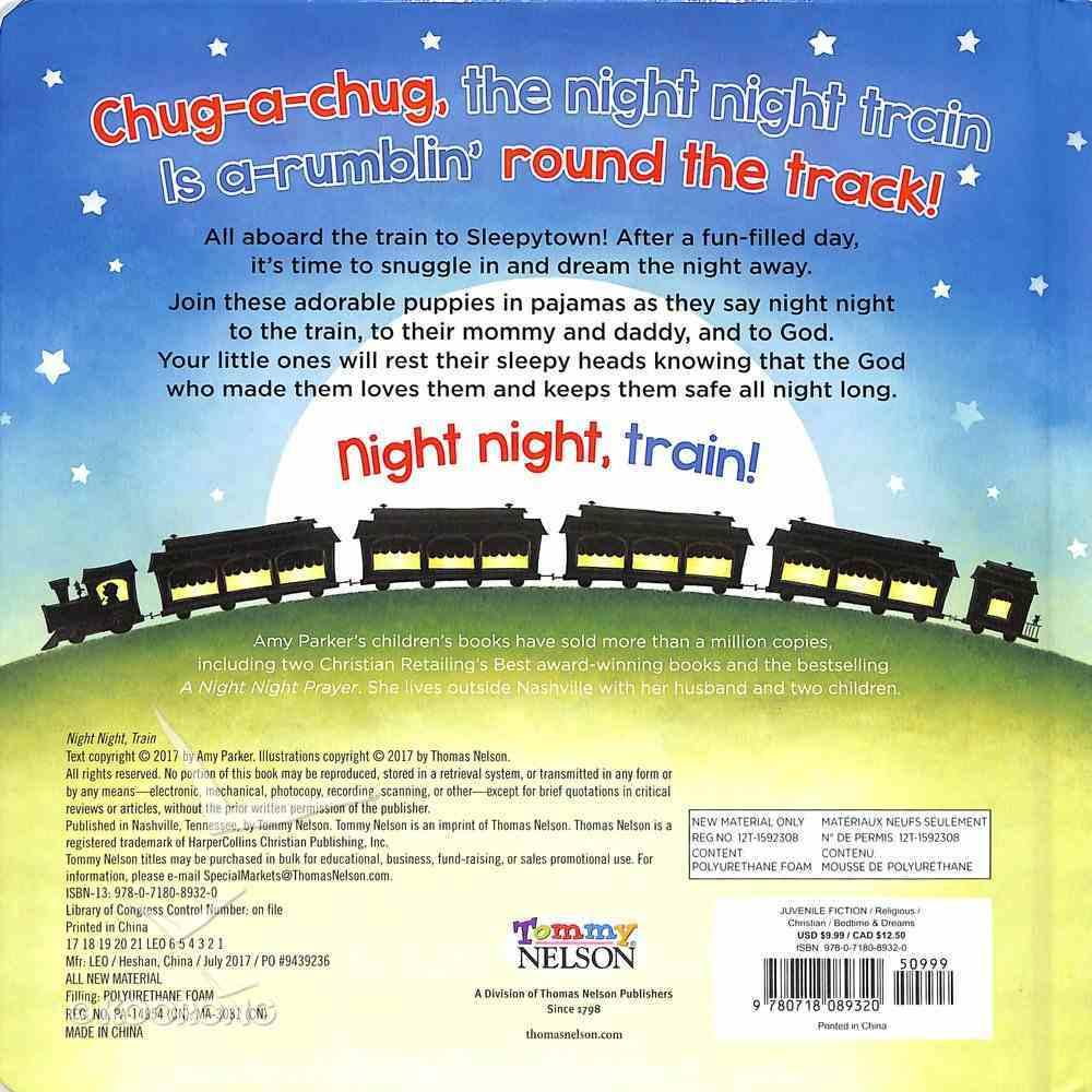 Night Night, Train (Night, Night Series) Board Book