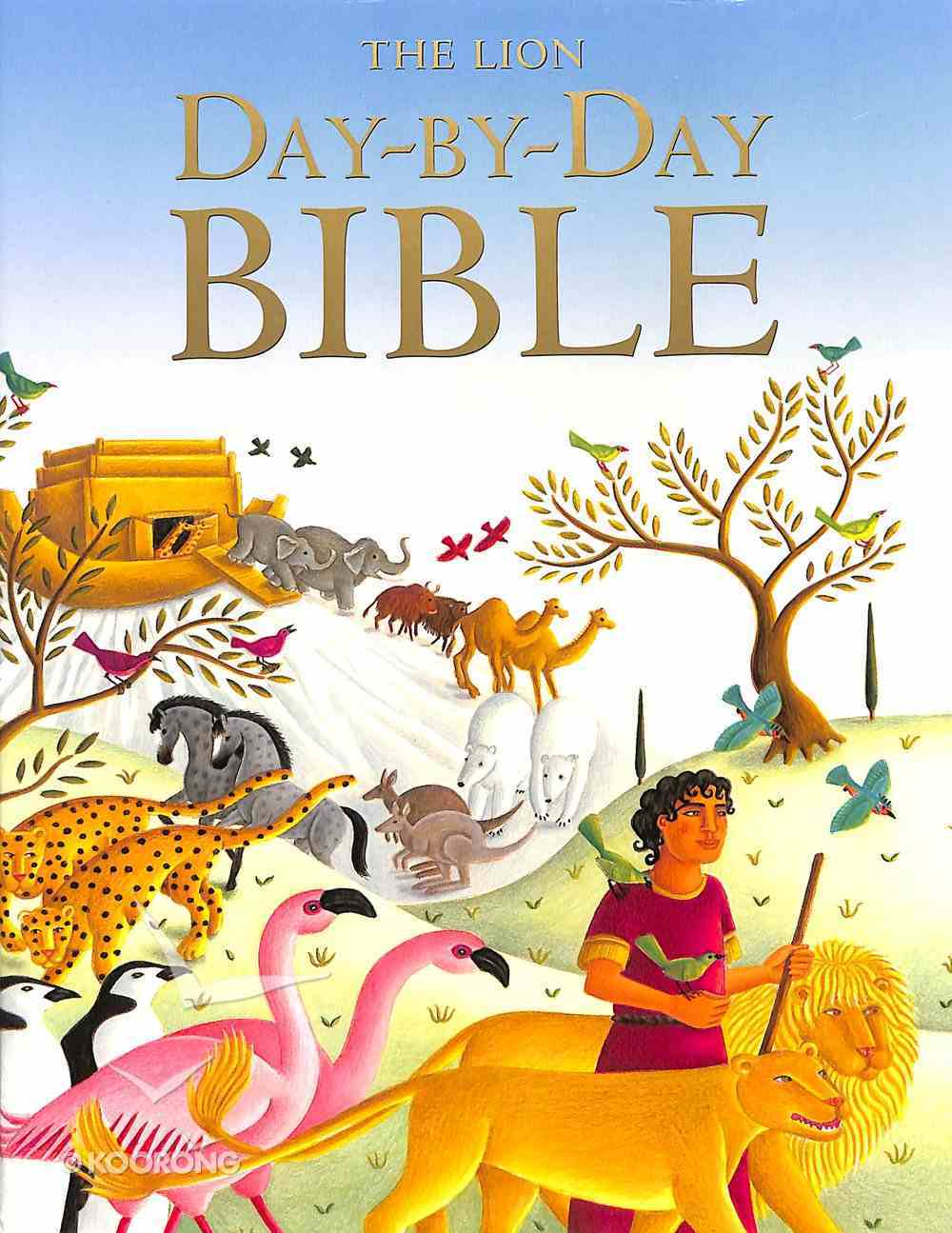 The Lion Day By Day Bible Hardback